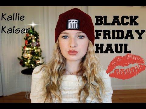 Black Friday Haul 2014 + try on // kallie kaiser