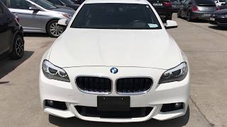 Обзор автомобиля BMW 535I f10 3.0 2013