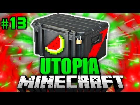 Das LEGENDÄRE MEGAUNBOXING Minecraft Utopia DeutschHD - Minecraft utopia spielen