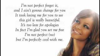 Christina Milian - I'm not perfect (with Lyrics!)