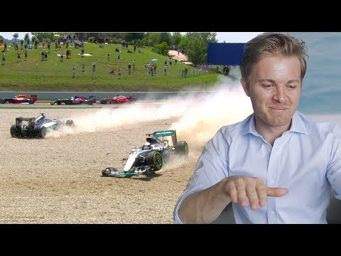 SPANISH GP F1 CRASH WITH LEWIS HAMILTON EXPLAINED | NICO ROSBERG | UNCUT