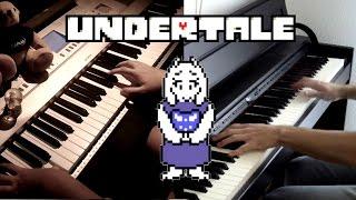 UNDERTALE - Hopes and Dreams / Heartache (Piano+Orchestra)