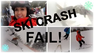 EPIC SKI CRASH FAIL [Sorry Mister] | The Beauty Commandments