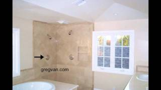 How To Locate A Shower Head For Tall People - Bathroom Remodeling And Design