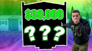 REVEALING MY $30,000 BACKYARD SURPRISE!