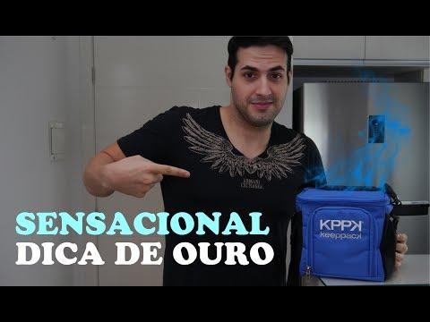 KEEPPACK LANCHEIRA TÉRMICA - Bolsa Térmica para Transporte de Marmita Fitness Musculação