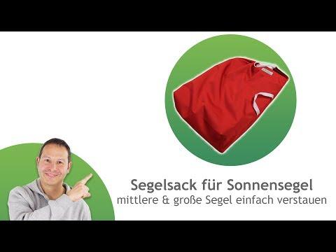 Segelsack/ Aufbewahrungstasche für mittlere bis sehr große Sonnensegel