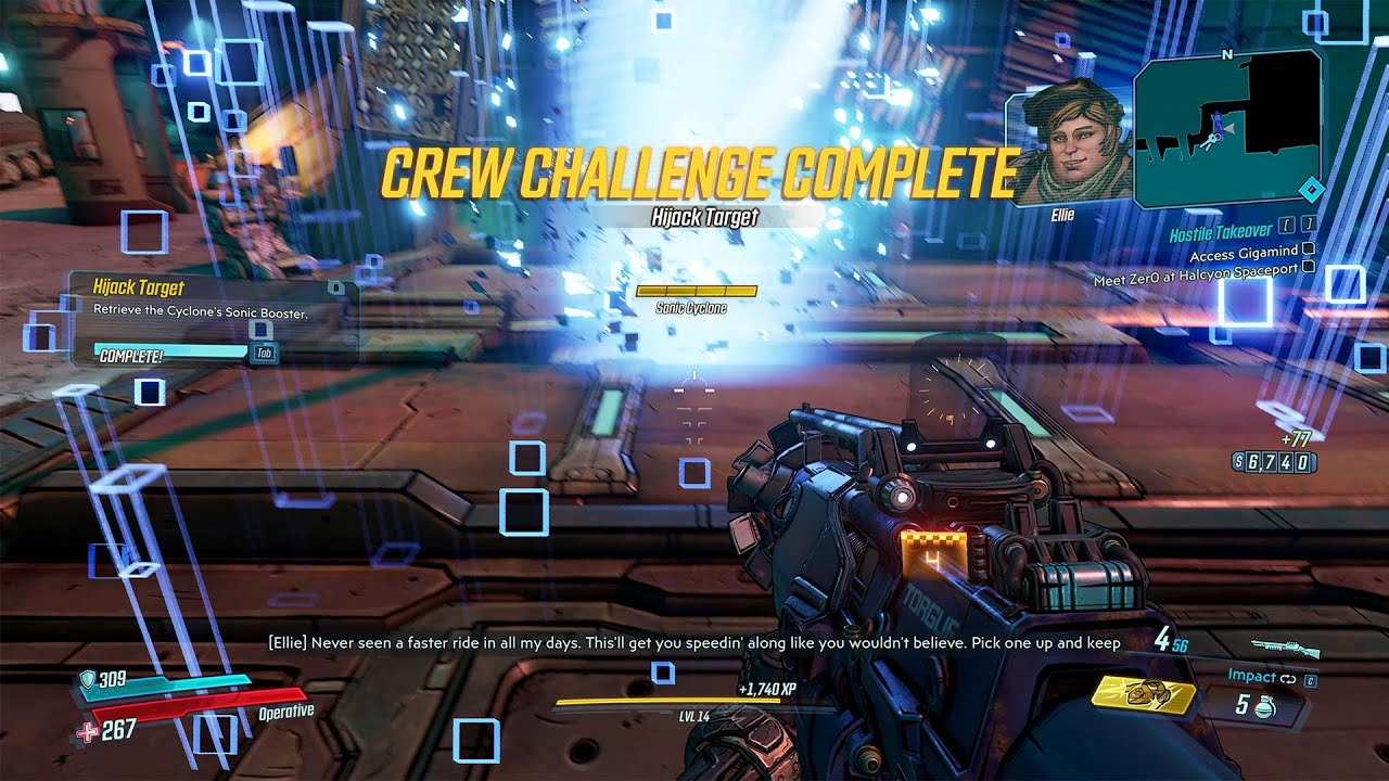 Video Hijack Target Crew Challenge - Forcefield