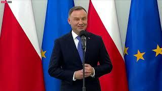 Powołanie nowych ministrów w Pałacu Prezydenckim