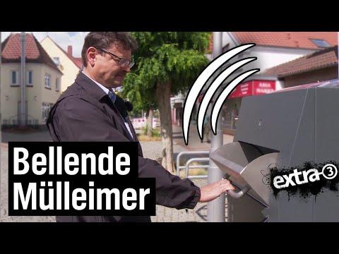 Realer Irrsinn: Sprechende Mülleimer in Bremen Nord | extra 3 | NDR