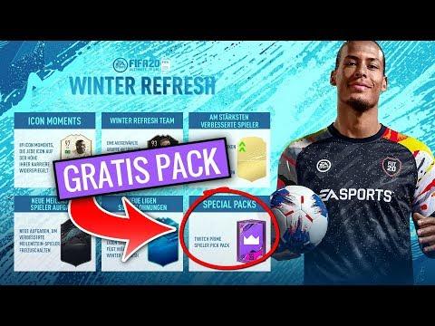 FIFA 20: Twitch Prime Player Pick Pack - Twitch mit EA Konto verbinden | Winter Refresh & ÜV