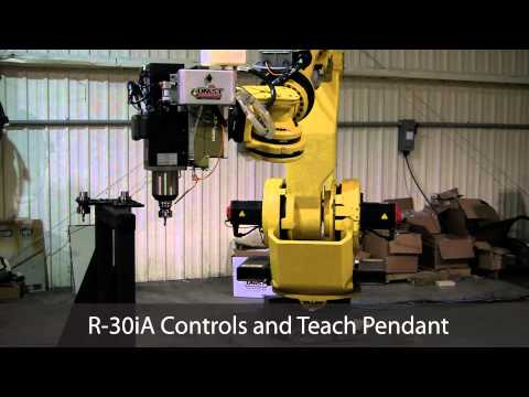 Fanuc M-900iB/260L Robot with Tool Stand