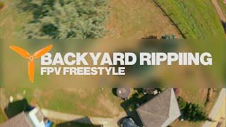 Backyard Ripping in Croatia! FPV Freestyle - No Stabilisation