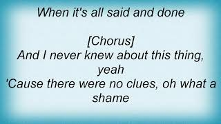 Anthony Hamilton - Change Your World Lyrics