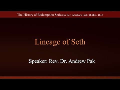 Lineage of Seth