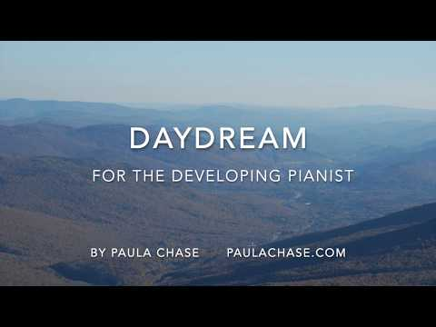"""Daydream"" from my set of pieces, ""A Child's Day."""