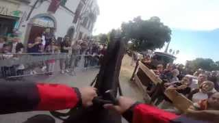 preview picture of video 'Gopro Piazza Garibaldi 7 Settembre 2014 Castel del piano Palio delle Contrade'