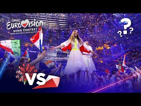 Junior Eurovision: 2018 VS 2019 (My Version)