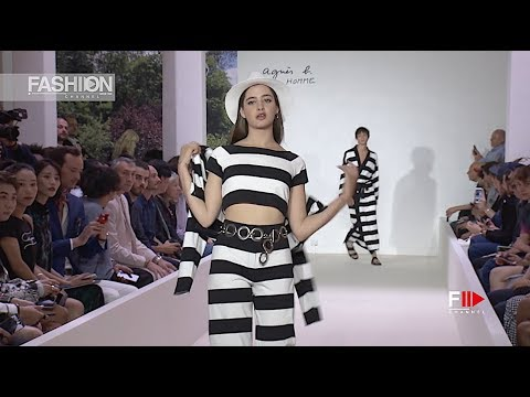 AGNÈS B. Spring Summer 2019 Menswear Paris - Fashion Channel