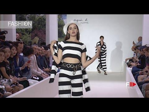 AGNÈS B. Spring Summer 2019 Menswear Paris - Fashion Channel