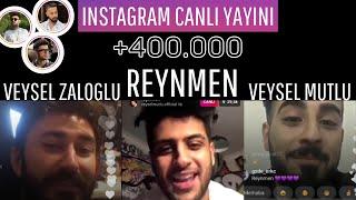 Reynmen ve Veysel Mutlu + Zaloğlu yayın yapıyorlar!