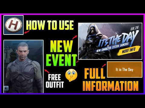 PUBG Mobile New Event It's The Day Full Information Free Victor Outfit and How to Use Her Token