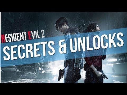 Resident Evil 2 Remake - OG Classic Costumes In-game Unlockable