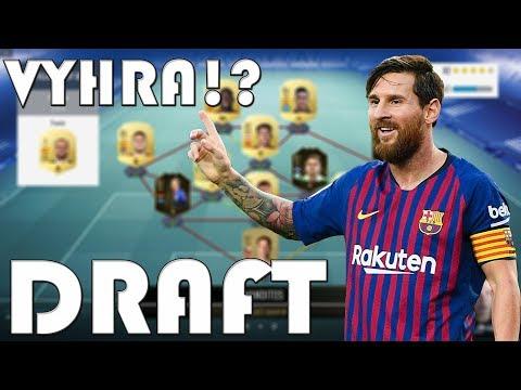 1. KOLO DRAFTU!!   KONEČNĚ 1. VÝHRA?   FIFA 19   CZ/SK
