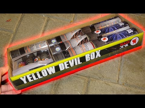 Yellow Devil Box