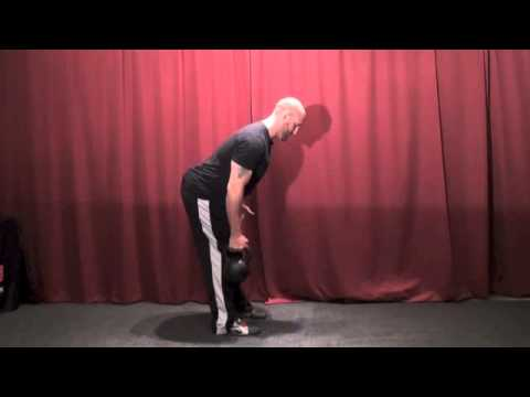 Kettlebell One-Arm Row