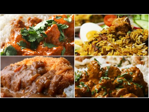 6 Delicious Recipes for Curry Night