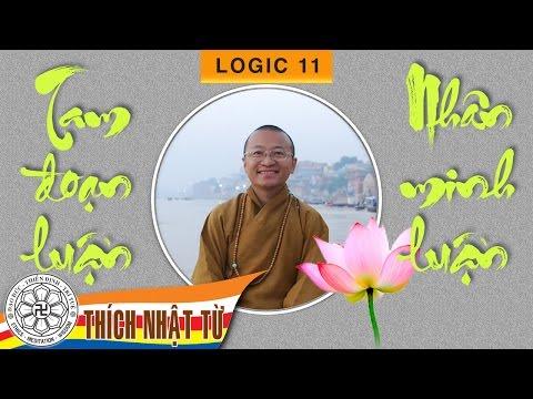 Tam đoạn luận và nhân minh luận (14/11/2007) Thích Nhật Từ
