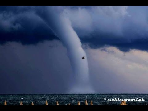 Summer Snow in Europe, Blue Cloud Tornadoes and Waterspouts (644)