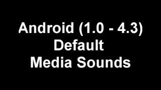 Android 1 0 4 3 Original Media Sounds