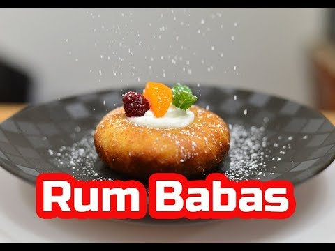 Paul Hollywood's Rum Babas | #GBBO S03E01 | Cakes Week