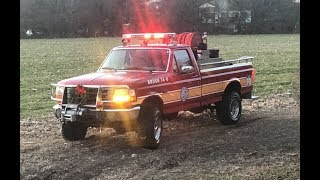 Brush fire and a MVC to end the year
