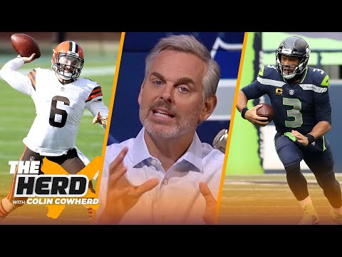 Should Seahawks be concerned after loss to Giants? Talks Baker & Browns — Colin   NFL   THE HERD