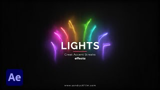 Light Streak Accent Motion Graphics | After Effects Tutorial
