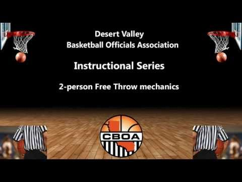 Instructional Series - 2 Person Free Throw Mechanics