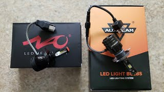 AUXBEAM T1 LEDs OR NAO K1 LEDs...ARE THEY WORTH YOUR MONEY???
