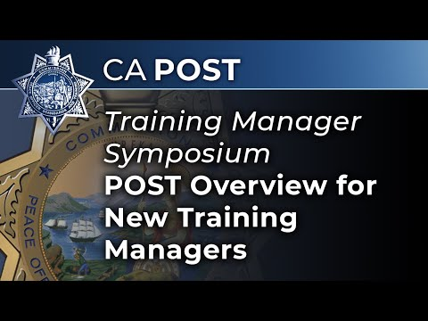 POST Overview for New Training Managers - YouTube
