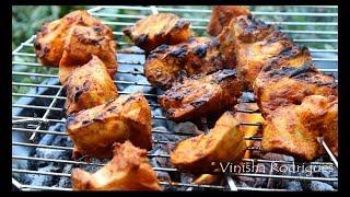 BBQ Grilled Chicken | Easy Basic BBQ Chicken Recipe | Charcoal Grilled Chicken