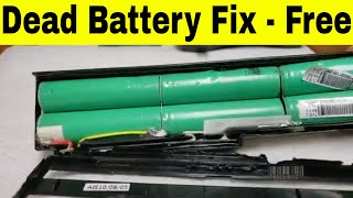 Fix Dead Laptop Battery - Dead Laptop Battery Referb