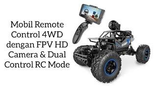 Mobil Remote Control 4WD dengan FPV HD Camera & Dual Control RC Mode