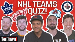 CAN YOU PASS THIS QUIZ ON NHL TEAMS?