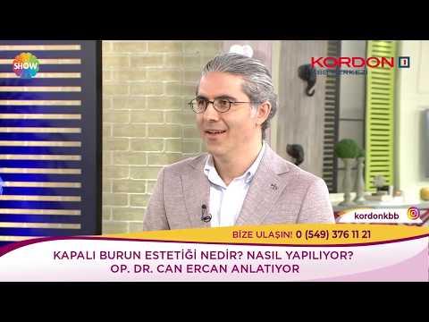 Can Ercan - Kapalı Burun Estetiği - Show Tv Kendine İyi Bak