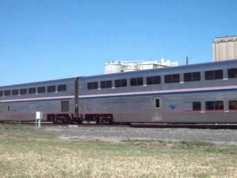 "Saginaw Texas Amtrak 821 ""Heartland Flyer"""