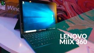 Miix 630: así es híbrido con Windows 10s y Snapdragon 835 de Lenovo