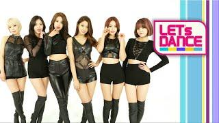 Let's Dance: AOA(에이오에이) _ Like a Cat(사뿐사뿐) [ENG/JPN/CHN SUB]