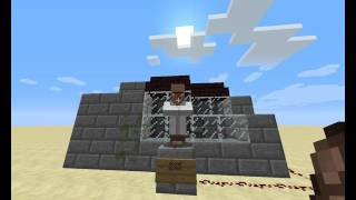 Minecraft Ennards Scooper 2 likes Tutorial how to build . works in Minecraft PE!!!